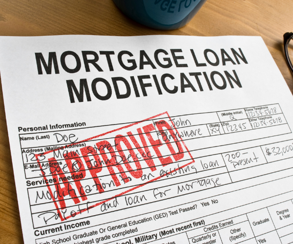 Loan Modification Approved